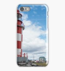 A light house on display iPhone Case/Skin