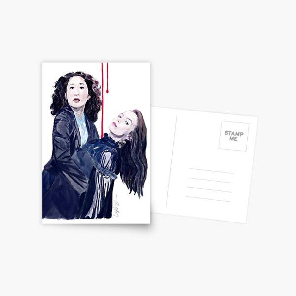 Killing Eve Postcard