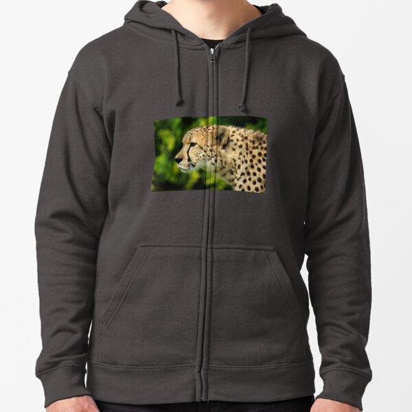 Cheetah Zipped Hoodie