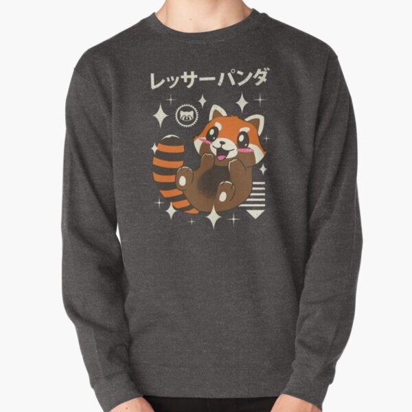 Kawaii Red Panda Pullover Sweatshirt