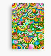 Free Expression 04 - Guache Canvas Print