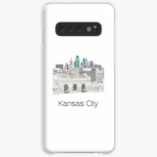 Hand Drawn Kansas City Skyline Samsung Galaxy Snap Case