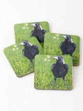 Magpie - Flowers for You Coasters