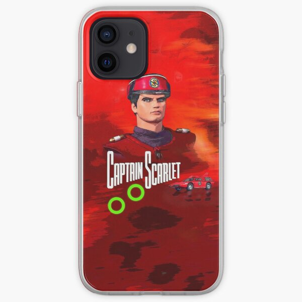 Captain Scarlet drawing 1 iPhone Soft Case