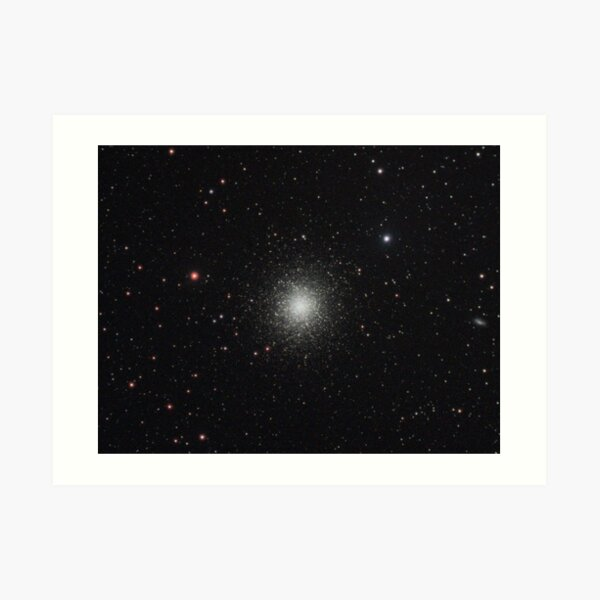 The Hercules Globular Cluster (M13) Art Print