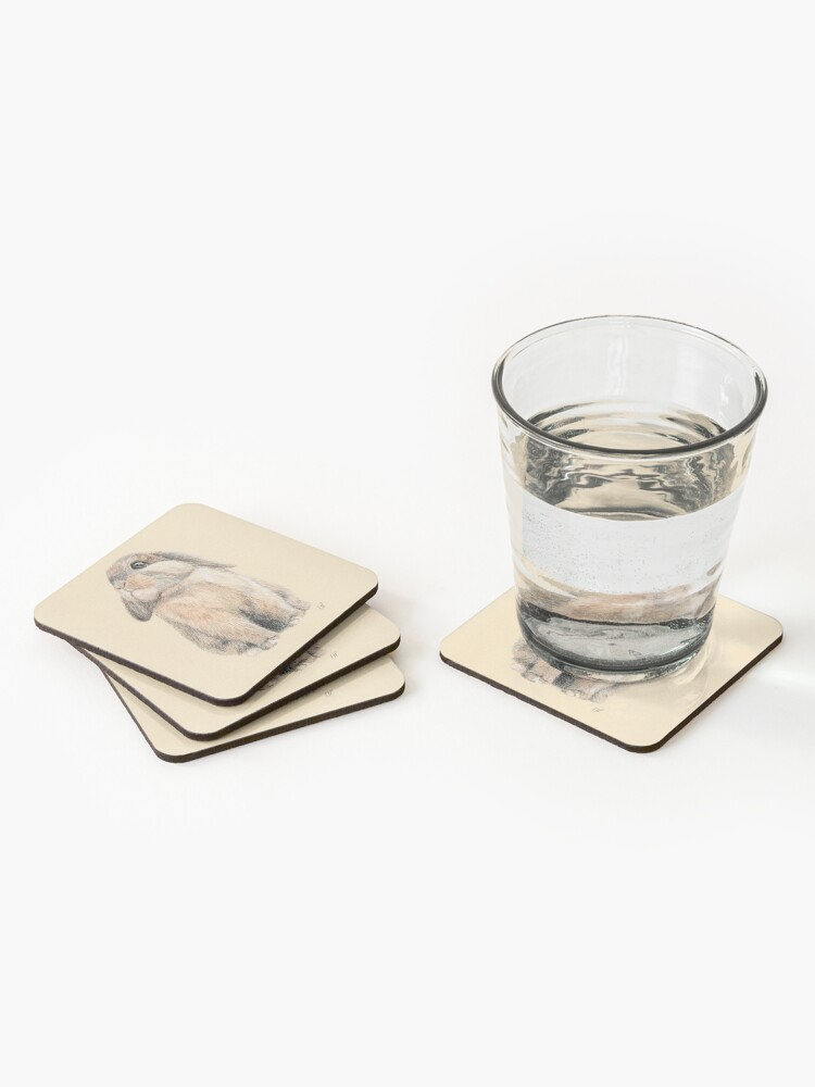 Alternate view of Cute Little Peter Rabbit Coasters (Set of 4)