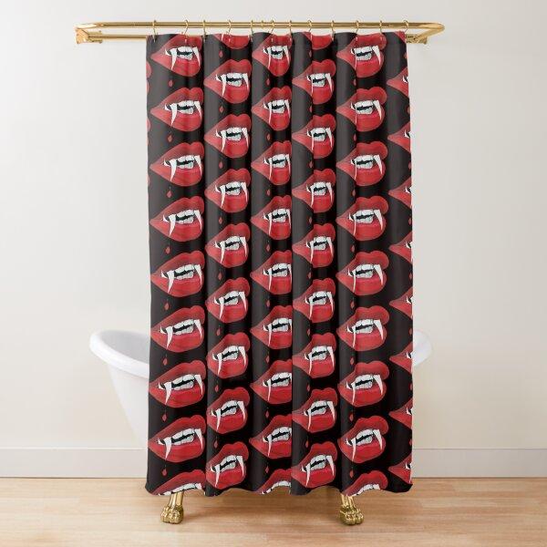 Vampire woman Shower Curtain