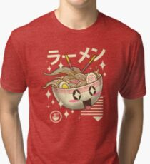 Kawaii Ramen Tri-blend T-Shirt