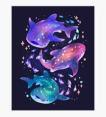 Cosmic Whale Shark Photographic Print
