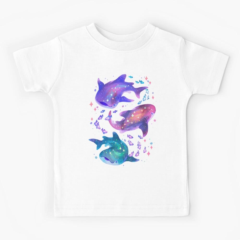 Cosmic Whale Shark Kids T-Shirt
