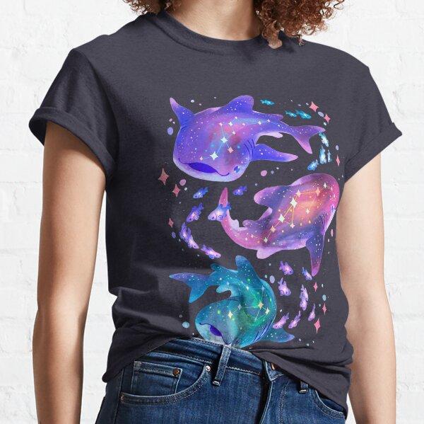 Tiburón ballena cósmico Camiseta clásica