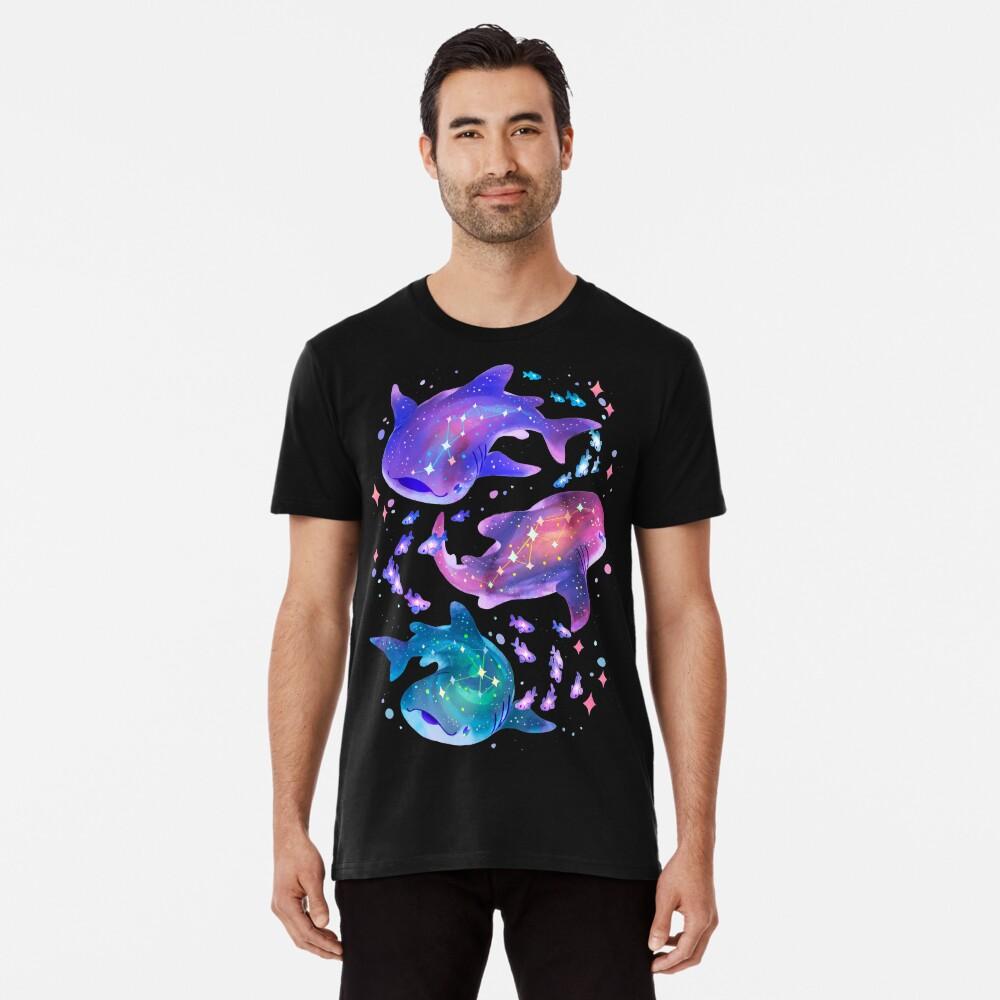 Cosmic Whale Shark Premium T-Shirt