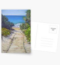 Rules Beach Bundaberg  Queensland Australia  Oil Painting Postcards