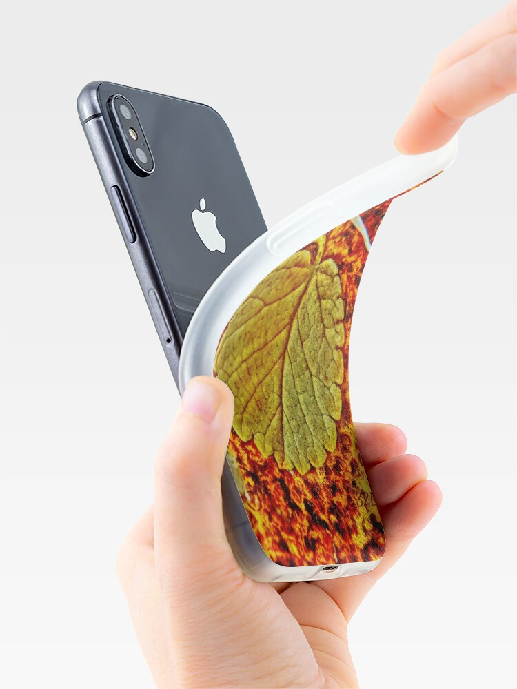Alternate view of Floating Leaf iPhone Case & Cover
