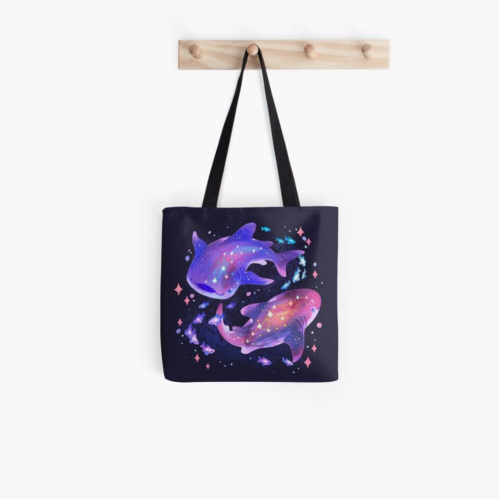 Cosmic Whale Shark Tote Bag