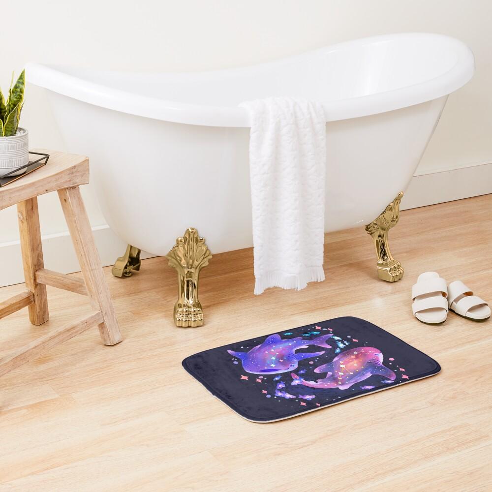 Cosmic Whale Shark Bath Mat
