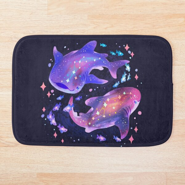 Cosmic Whale Shark Bath Mat