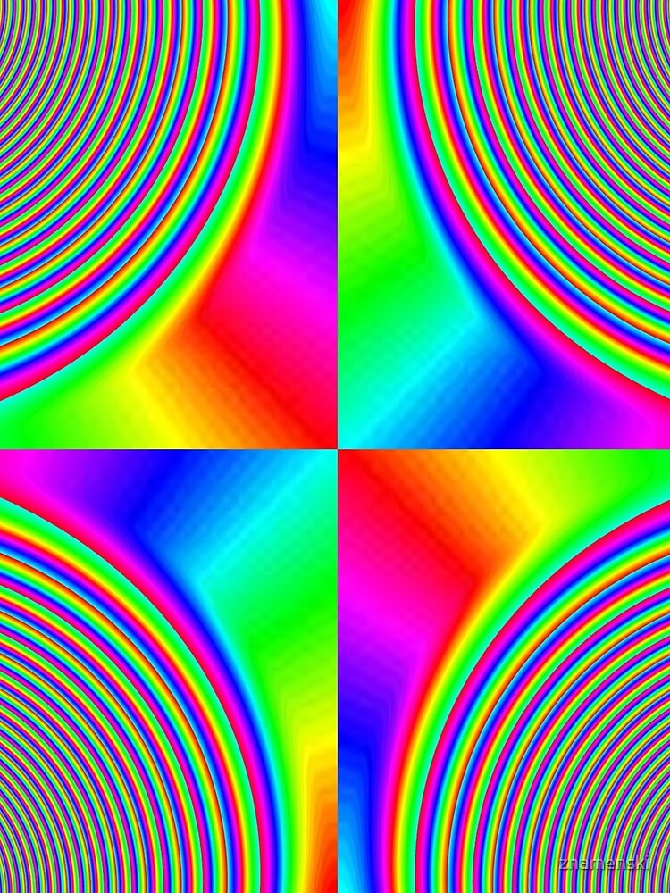 #Creativity, #rainbow, #bright, #prism, design, abstract, psychedelic, color image, multi colored by znamenski