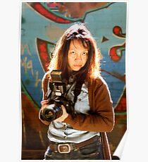 Camera Lady Poster
