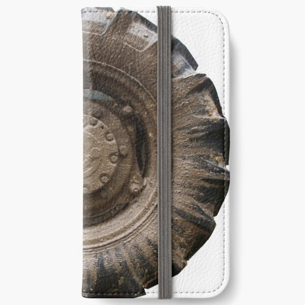 Got Bogged  Mud Tyer by South Australian artist Avril Thomas iPhone Wallet