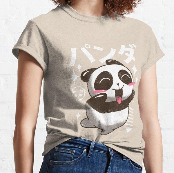 Kawaii Panda T-shirt classique