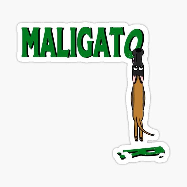 Maligator Bite Sticker