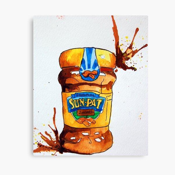 Sun Pat Peanut Butter Canvas Print