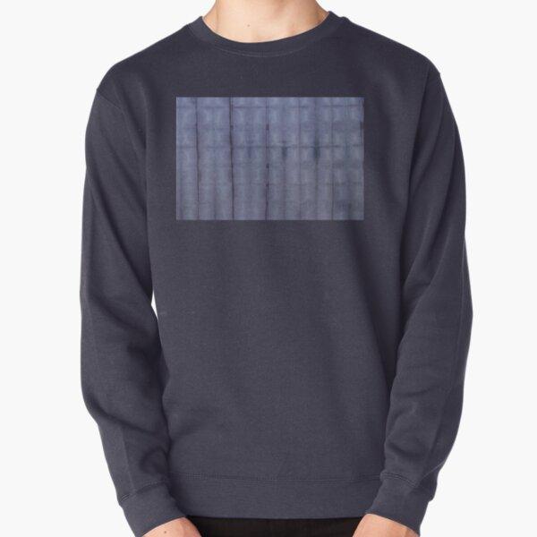 SKU303 Shibori Style Blue Denim 1 Pullover Sweatshirt