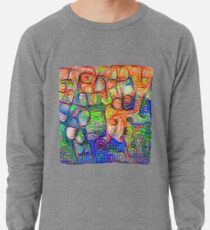 #Deepdreamed abstraction Lightweight Sweatshirt