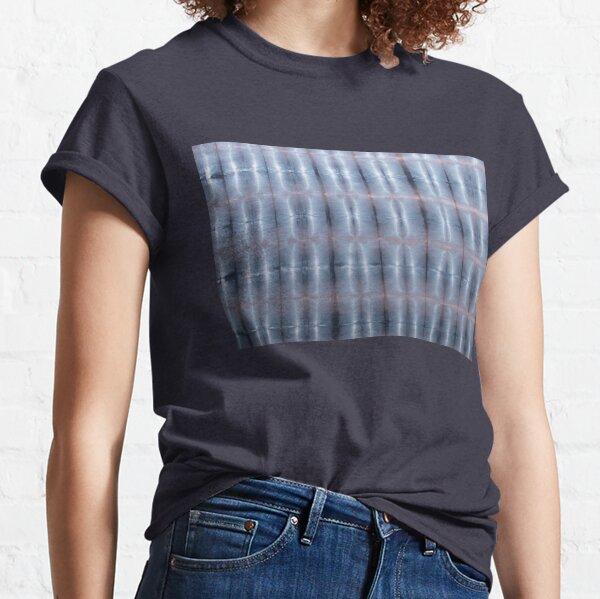 SKU259 Shibori Style Blue Pink 1 Classic T-Shirt