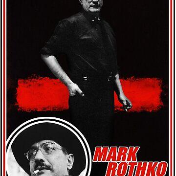 Mark Rothko Trading Card by rewireddesign