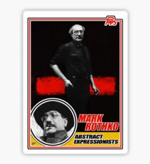 Mark Rothko Trading Card Sticker