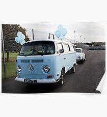 Road Trip 2009 VW Camper Van_8219 Poster