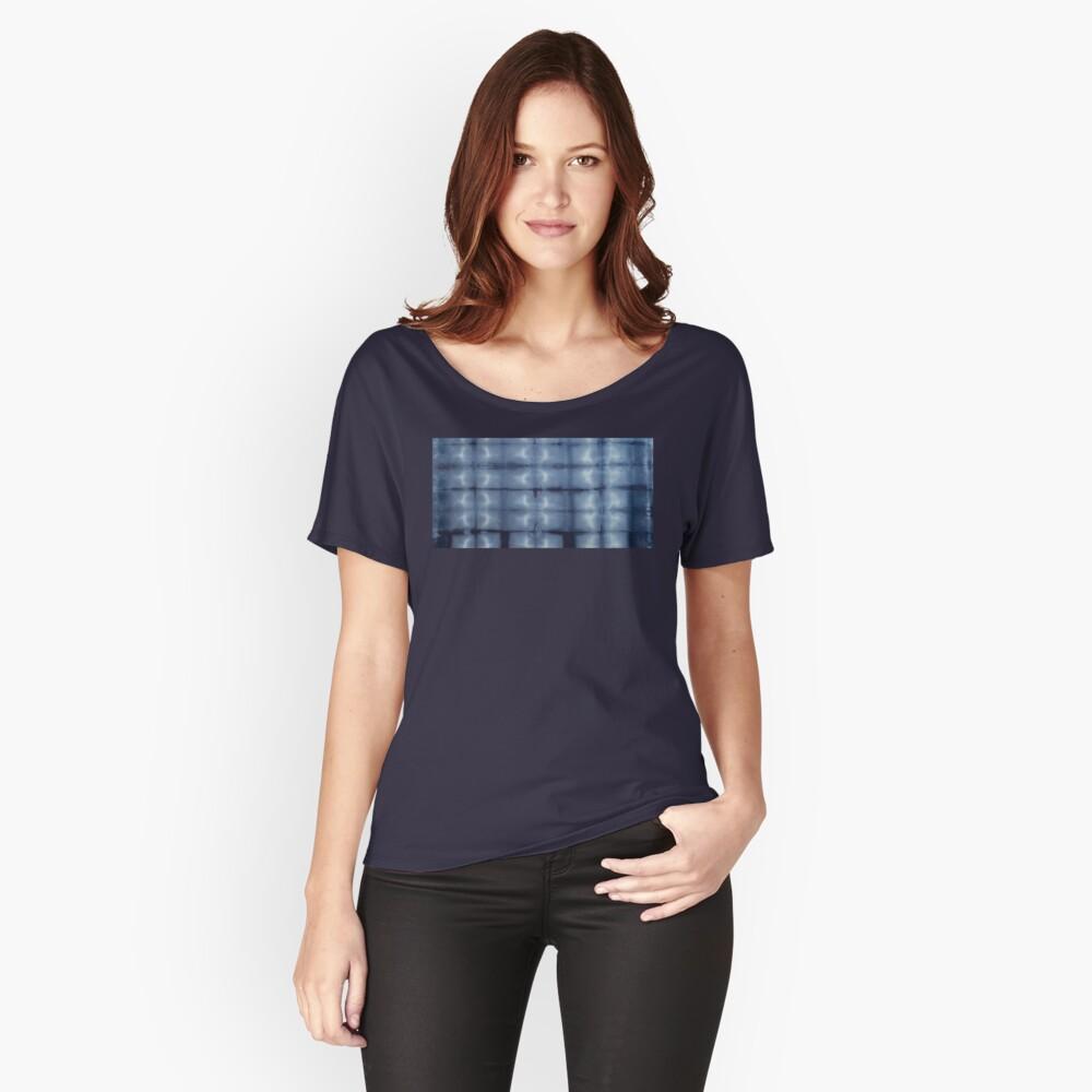 SKU546 Shibori Style - Blue Denim 2 Relaxed Fit T-Shirt