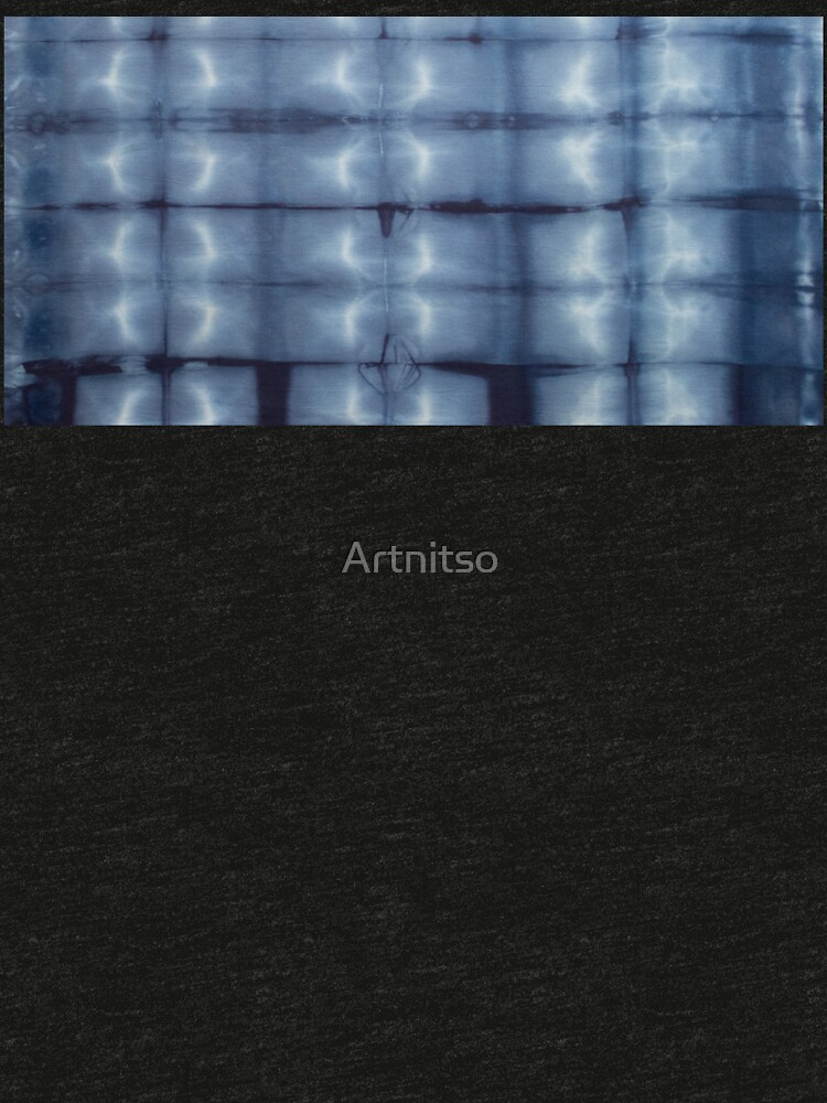 SKU546 Shibori Style - Blue Denim 2 by Artnitso