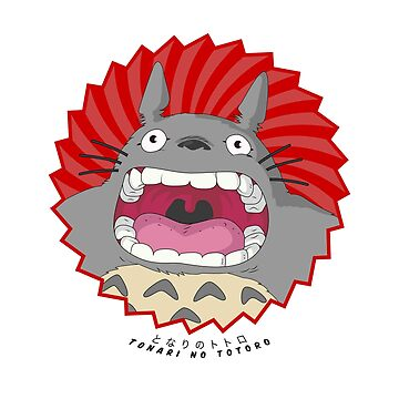 Totoro! Totoro! Totoro! by TheCSimmons