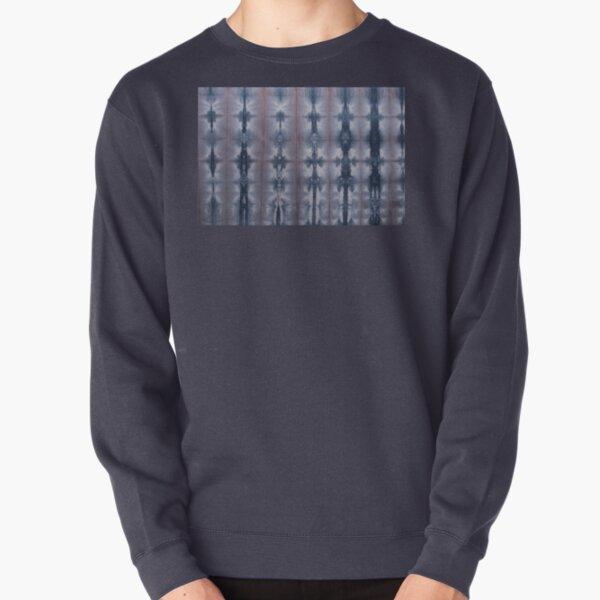 SKU547 Shibori Style - Blue Pink 2 Pullover Sweatshirt