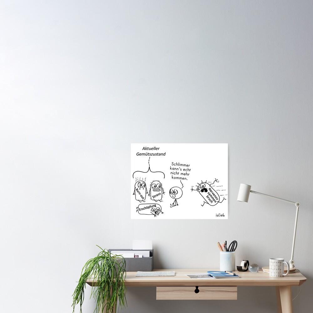 Gemuetszustand Poster