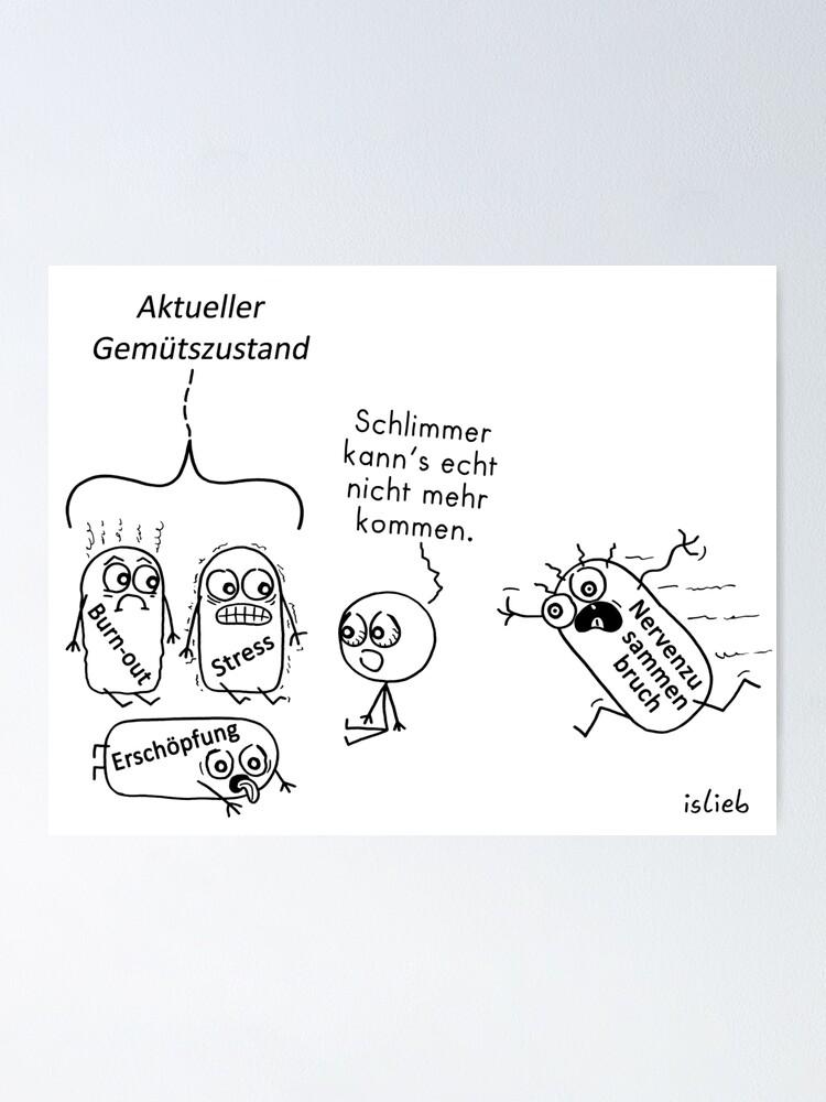 Alternative Ansicht von Gemuetszustand Poster