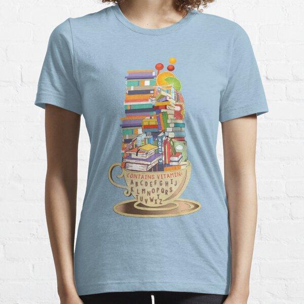 Enthält Vitamin: ABCDEFGHIJKLMNOPQRSTU VWXYZ Essential T-Shirt