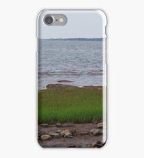 Marshland at River John iPhone Case/Skin