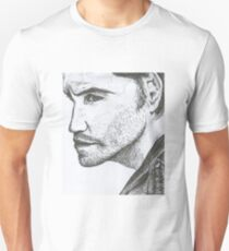 Edgar Ramirez Pen Drawing Unisex T-Shirt