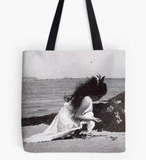 Sometimes When I Was A Little Girl I Would Hear The Sea Talking To Me, It Would Tell Me To Lie Down, Right There On The Shore, To Me The Sea Seems Like Some Sort Of Salty Universal Womb... Tote Bag