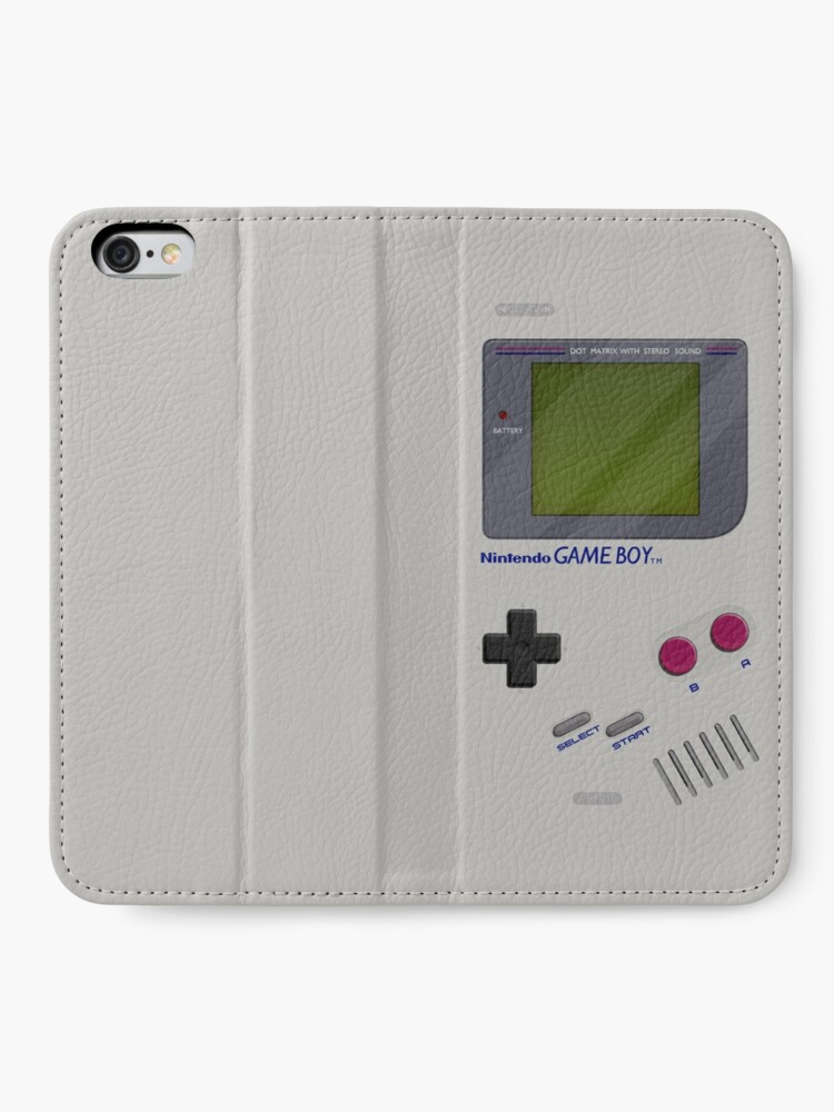 Alternate view of Classic Gameboy iPhone Wallet
