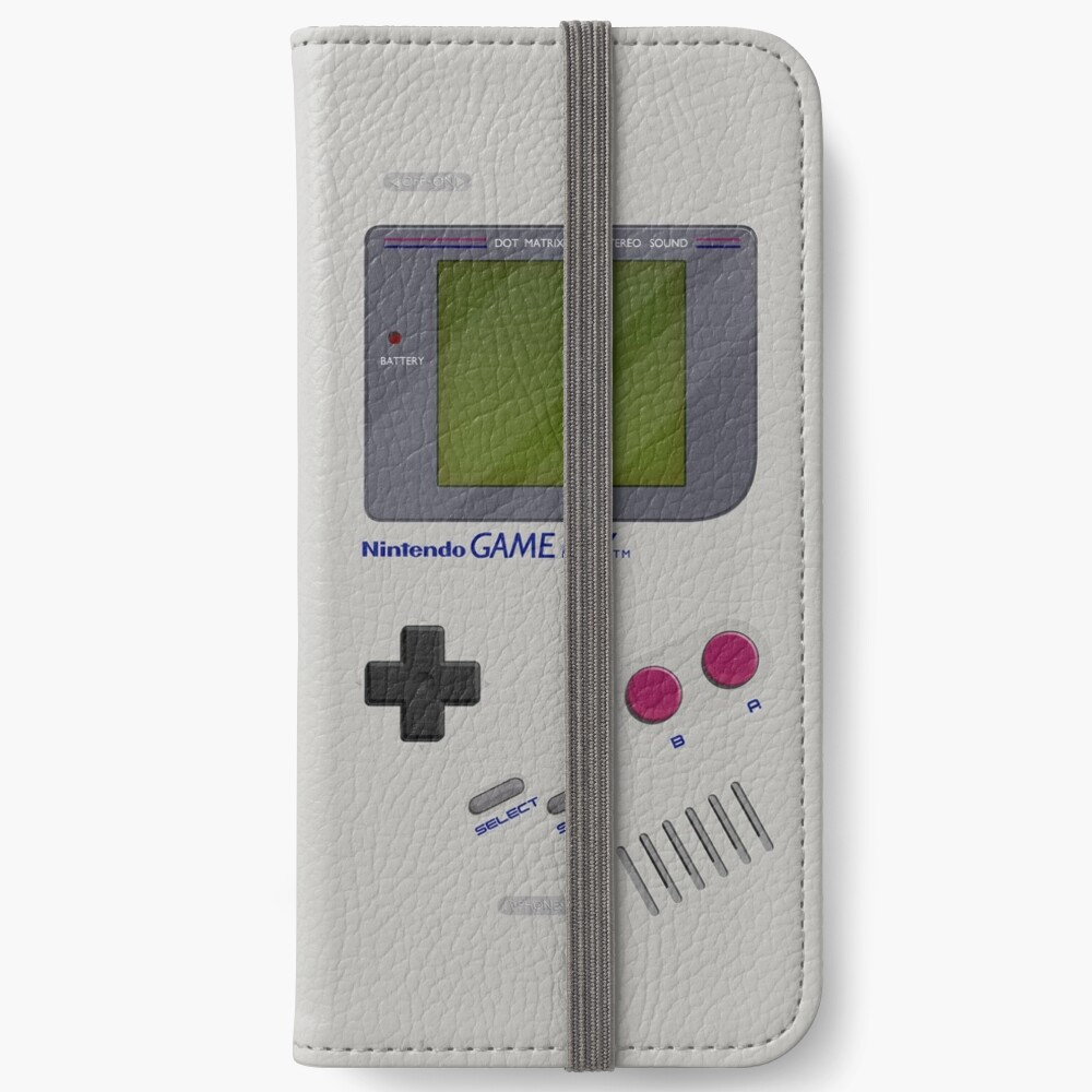 Classic Gameboy iPhone Wallet