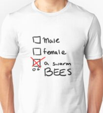 a swarm of bees Unisex T-Shirt