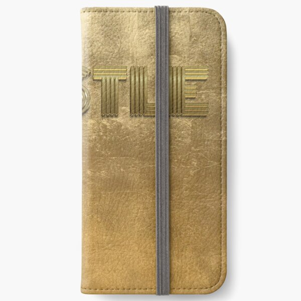 Hustle Gold iPhone Wallet