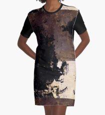 Art Scratches Graphic T-Shirt Dress