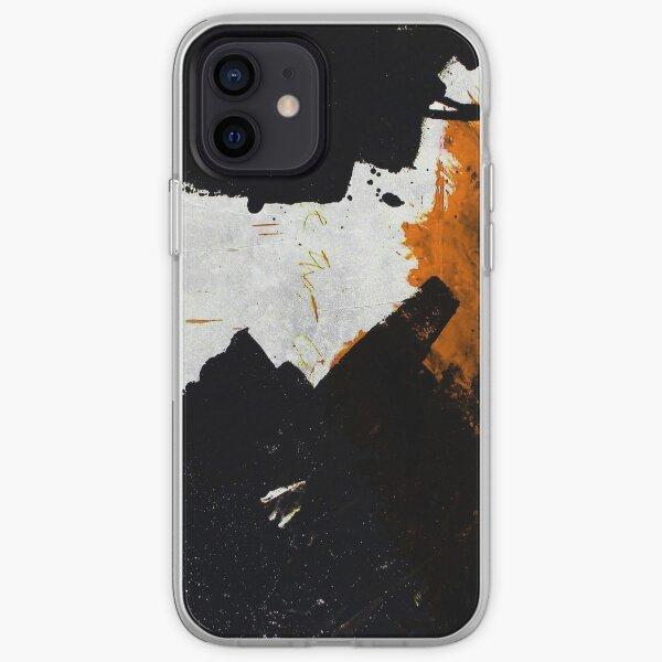 Minimal Orange on Black iPhone Soft Case