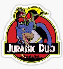 Jurassic Duo Sticker